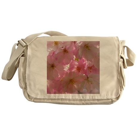 Japanese cherry blossom Messenger Bag