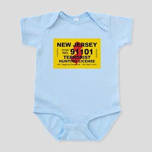 New Jersey Terrorist Hunting Infant Bodysuit