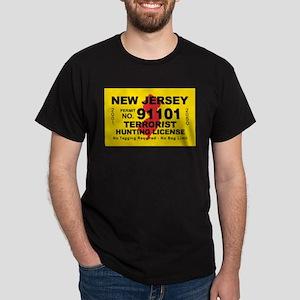 New Jersey Terrorist Hunting Dark T-Shirt