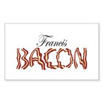 Francis Bacon Sticker (Rectangle 50 pk)
