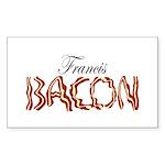 Francis Bacon Sticker (Rectangle)