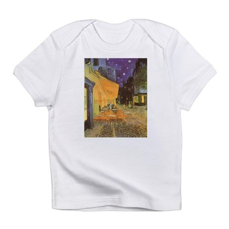 Van Gogh Cafe Terrace at Night Infant T-Shirt