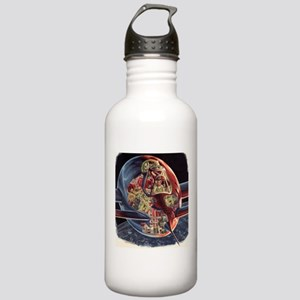 Vintage Science Fiction Stainless Water Bottle 1.0