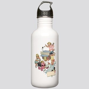 Vintage Children Playi Stainless Water Bottle 1.0L