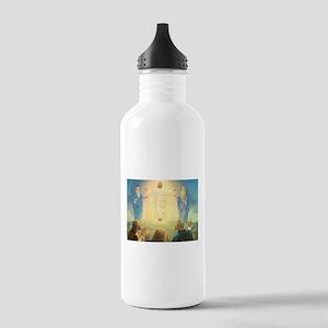 Vintage Jesus Christ Stainless Water Bottle 1.0L