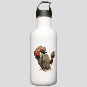 Vintage Sports Baseball Stainless Water Bottle 1.0