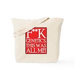 F**K Genetics Tote Bag