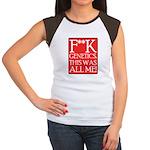 F**K Genetics Women's Cap Sleeve T-Shirt