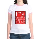 F**K Genetics Jr. Ringer T-Shirt