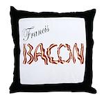 Francis Bacon Throw Pillow