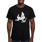 Cupido Men's Fitted T-Shirt (dark)
