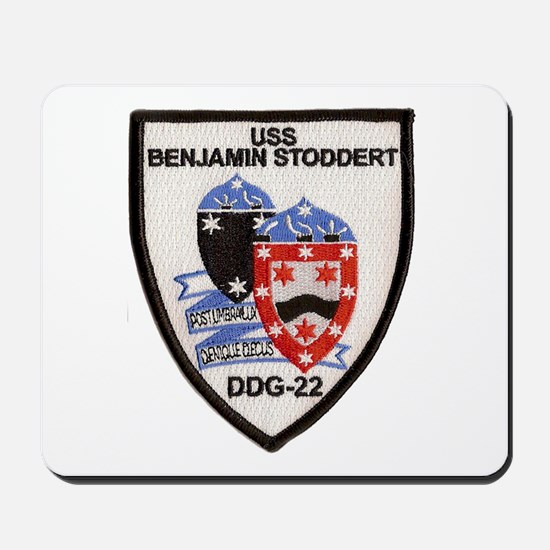 USS BENJAMIN STODDERT Mousepad