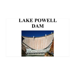 lake powell dam gifts and t-s 38.5 x 24.5 Wall Pee