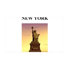 statue of liberty new york ci 38.5 x 24.5 Wall Pee