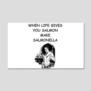 salmonella salmon 22x14 Wall Peel