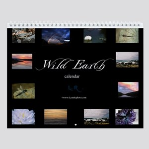 Wild Earth Wall Calendar