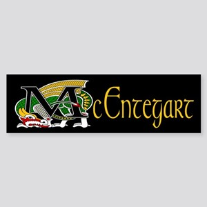 McEntegart Celtic Dragon Bumper Sticker