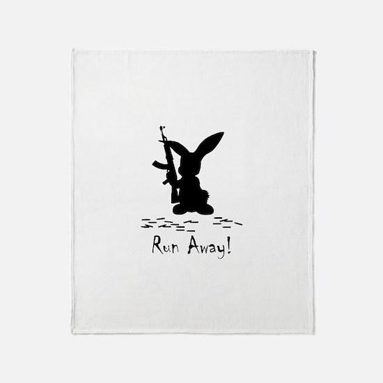 Run Away! Throw Blanket