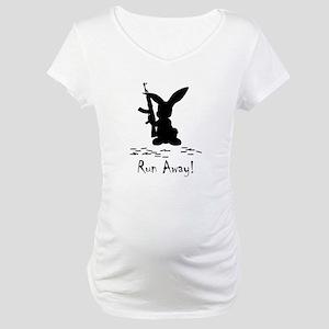 Run Away! Maternity T-Shirt
