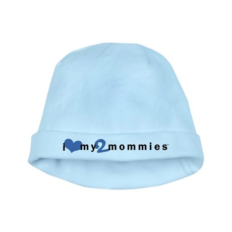 Baby Hat (Boy)   i love my 2 mommies