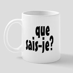 que sais-je Mug