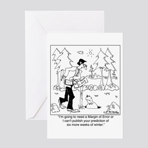 Weatherman greeting cards cafepress whats your margin of error greeting card m4hsunfo