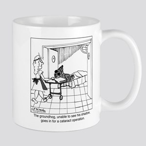 The groundhog has cataracts Mug