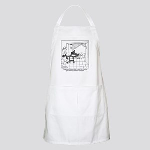 The groundhog has cataracts Apron