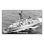USS BUCK Sticker (Rectangle)