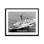 USS BUCK Framed Panel Print