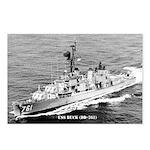 USS BUCK Postcards (Package of 8)