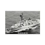 USS BUCK Rectangle Magnet