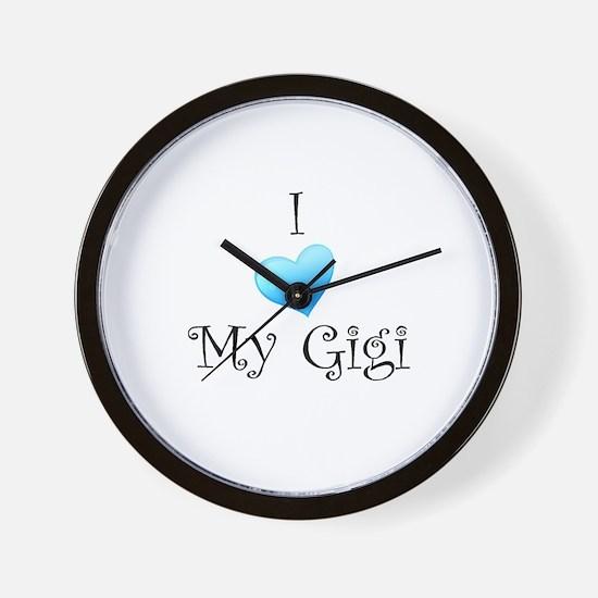 I Love Gigi Wall Clock