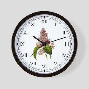 Provencal Lilac Wall Clock
