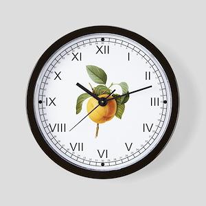 Provencal Apple Wall Clock