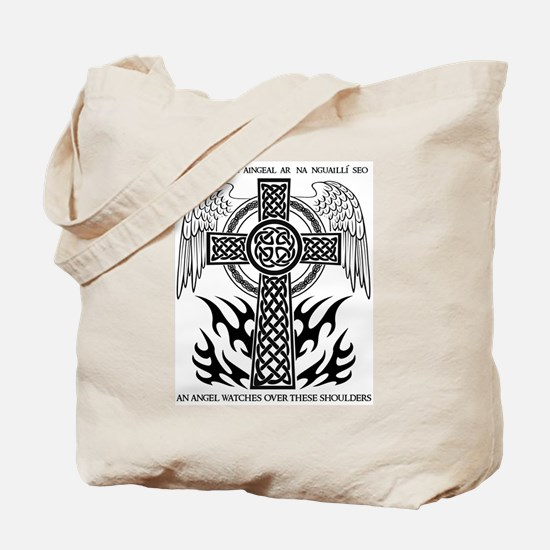 An Angel Watches Over... Tote Bag