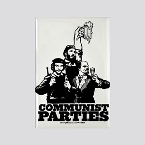 Communist Parties Rectangle Magnet