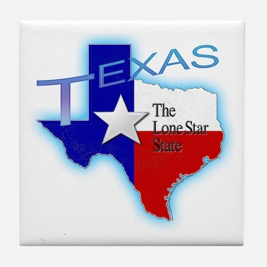 Texas Tile Coaster