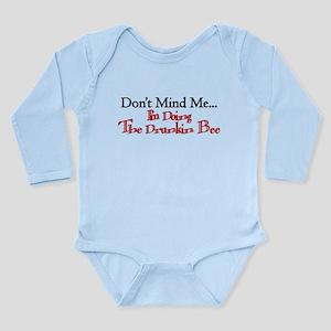 The Drunken Bee Long Sleeve Infant Bodysuit