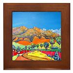 California tile Framed Tile