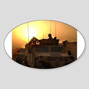 Dawn Patrol Bagdad Oval Sticker