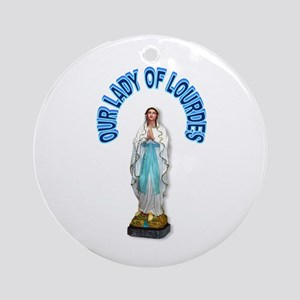PRAY FOR US Ornament (Round)