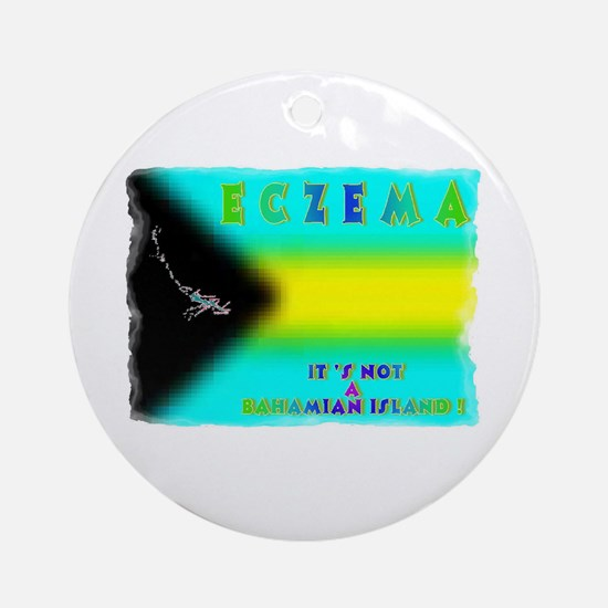 Eczema Islands Ornament (Round)