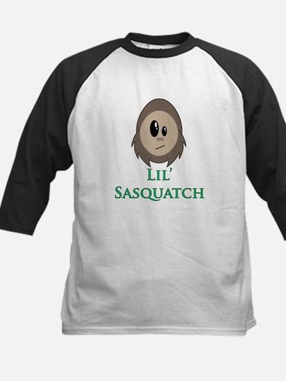 Little Sasquatch/Bigfoot Kids Baseball Jersey