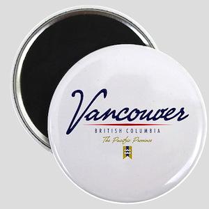 Vancouver Script Magnet
