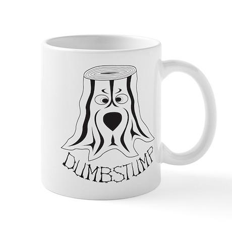 dumbstump_shirt_black-b Mugs