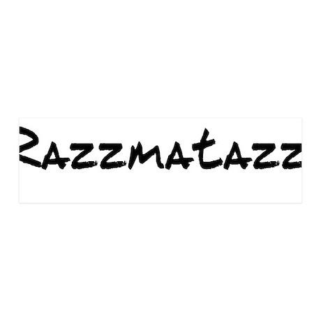 Razzmatazz 42x14 Wall Peel