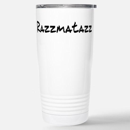Razzmatazz Stainless Steel Travel Mug