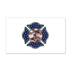 Firefighter USA 22x14 Wall Peel
