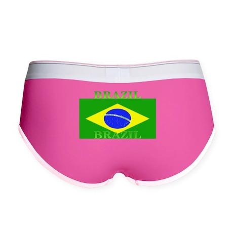 Brazil Brazilian Flag Women's Boy Brief
